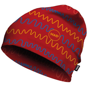 HAD Printed Fleece Beanie Kinder lirum